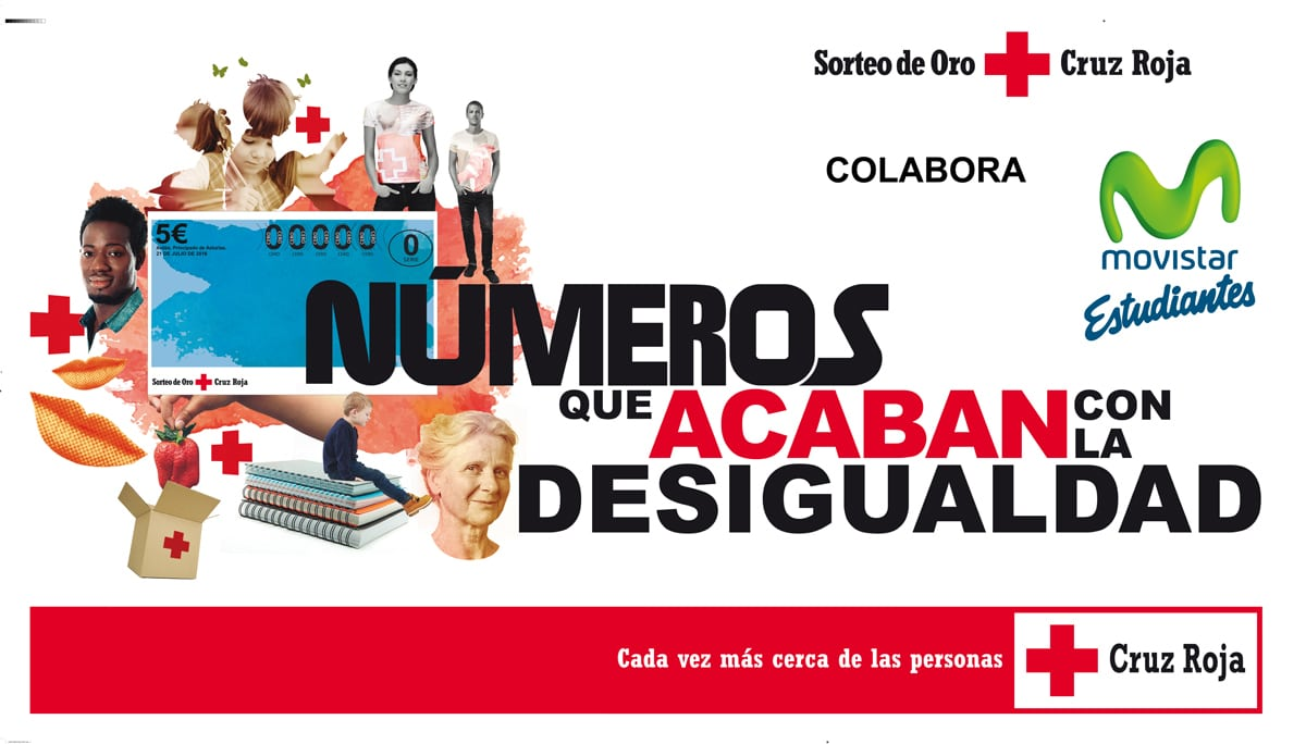 Sorteo del Oro de la Cruz Roja: colabora comprando tus boletos en los partidos o en Magariños