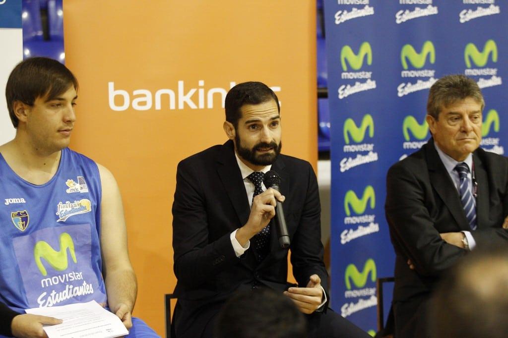 Bankinter, Fundación Estudiantes y Grupo Amás amplian su acuerdo de baloncesto inclusivo. Serán protagonistas en el partido contra UCAM Murcia.