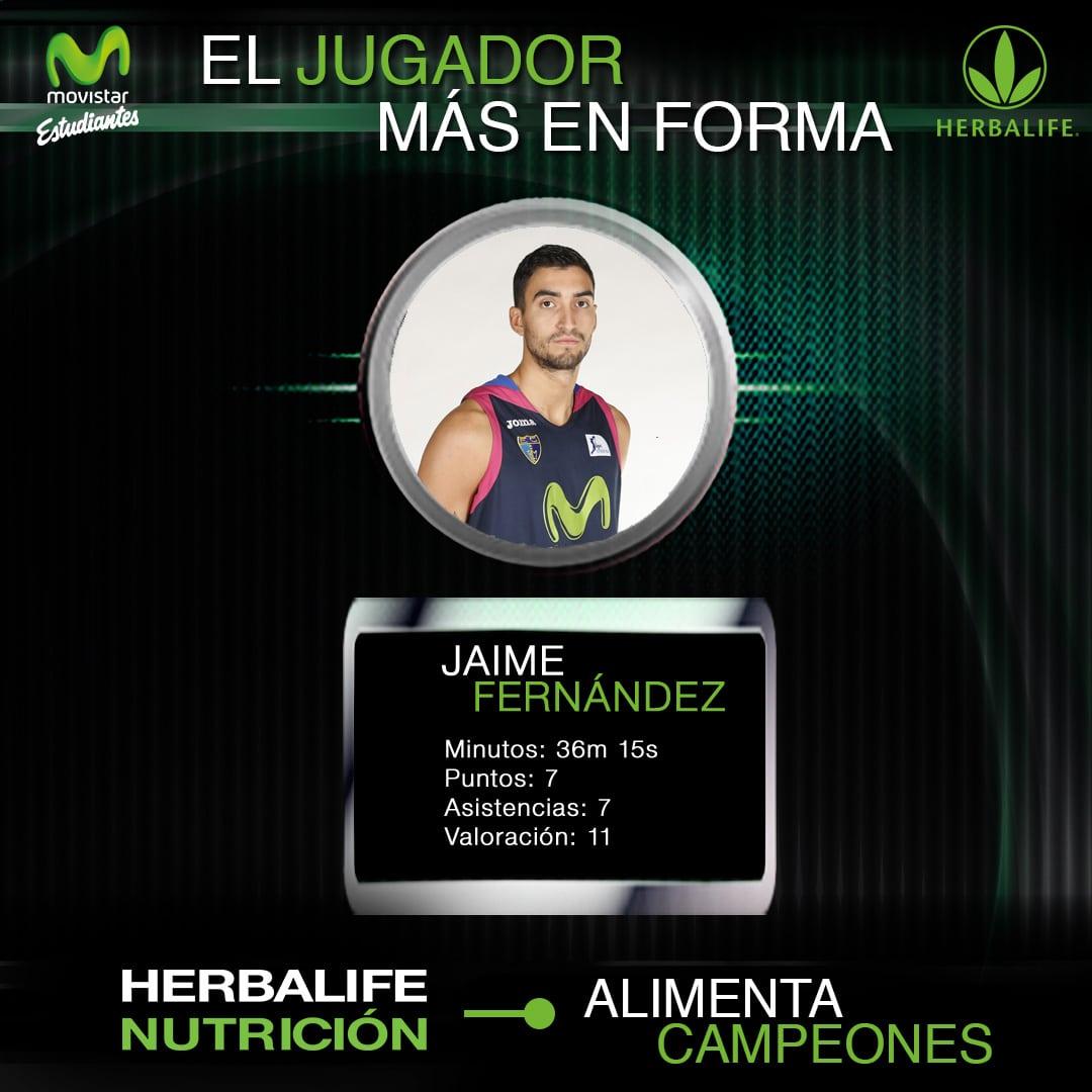 Herbalife presenta al jugador más en forma: Jaime Fernández