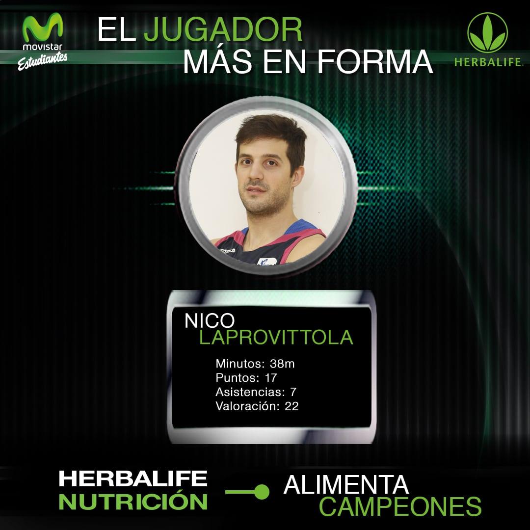 Herbalife presenta al jugador más en forma: Nico Laprovittola