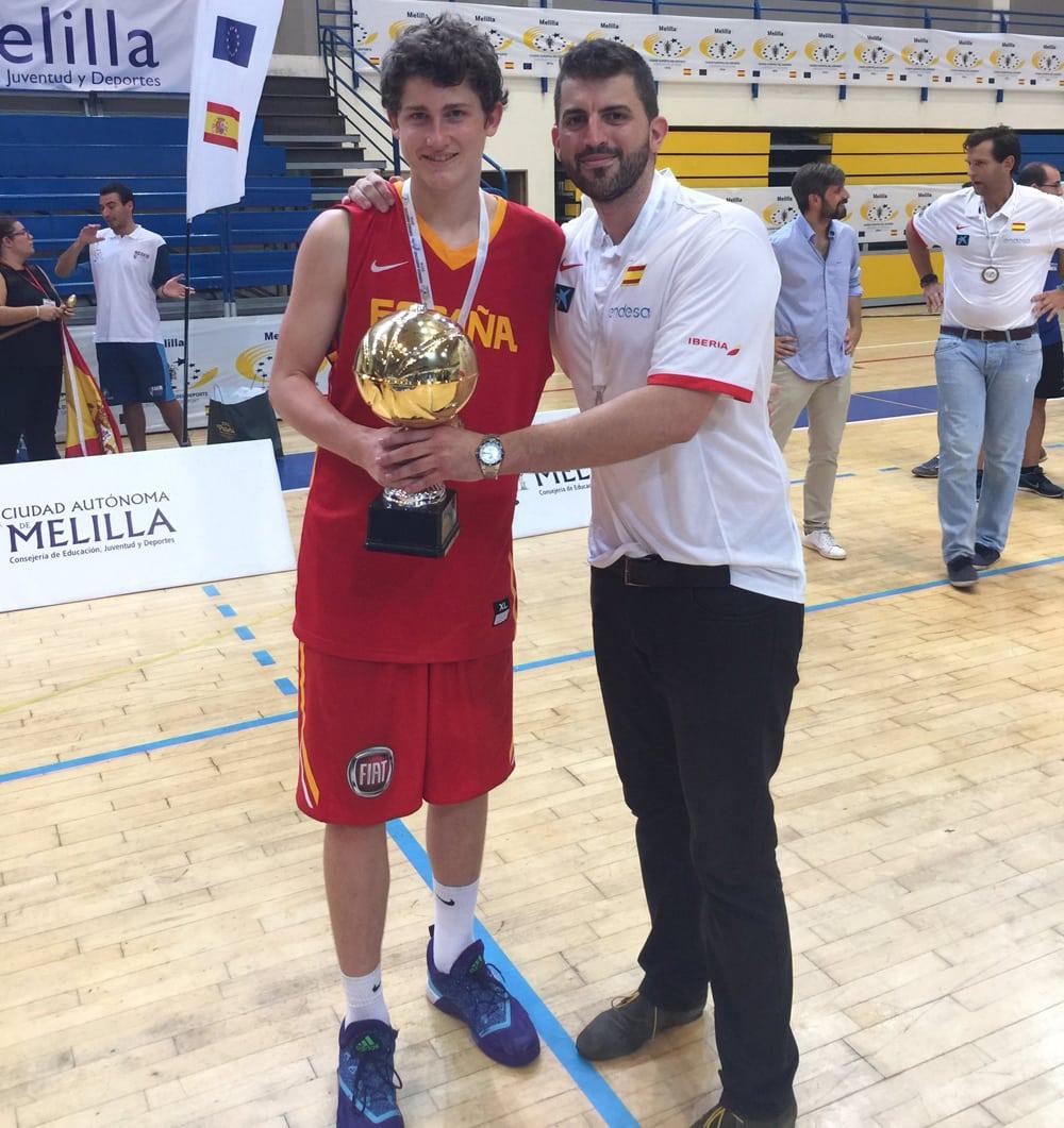 Comienza el Torneo BAM U14; tres colegiales con España.