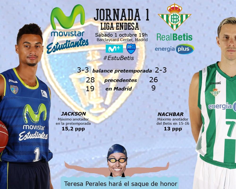Movistar Estudiantes- Real Betis Energía Plus: un debut con muchos alicientes (sábado 1, 19h)