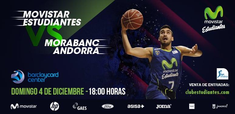 Desde 10€ el partido contra Morabanc Andorra del domingo a las 18h. 30% descuento para abonados