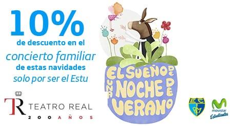 """10% en el Teatro Real estas Navidades: concierto familiar """"El sueño de una noche de verano"""""""