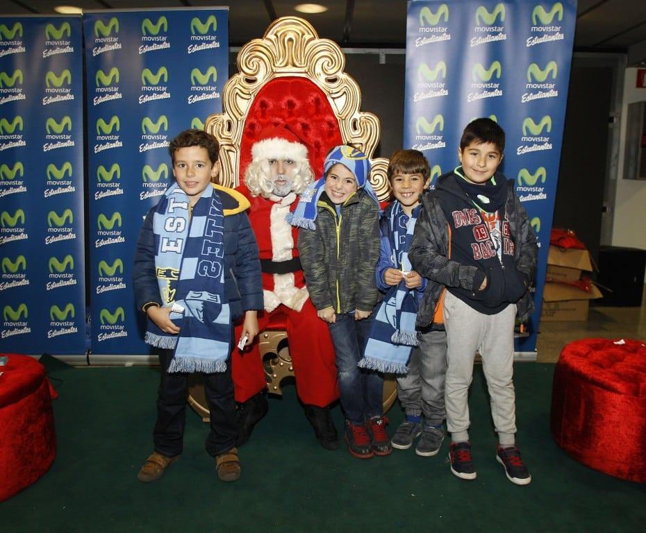 Fotos: Así fue la fiesta infantil de Navidad