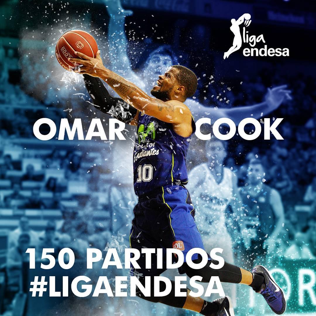 Partido 150 en Liga Endesa para don Omar