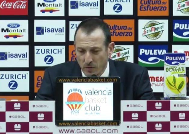 """Maldonado: """"Nos ha faltado continuidad ante un Valencia Basket mejor en líneas generales"""""""