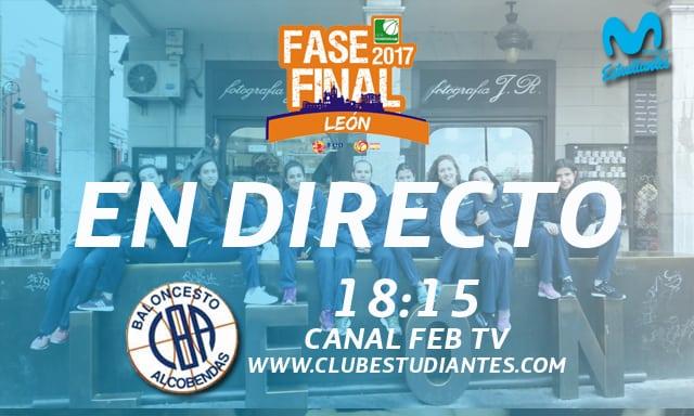 EN DIRECTO con la señal de Canal FEB TV y el directo Twitter. ¡¡Empieza la Fase Final de Liga Femenina 2 con todo un derbi!!