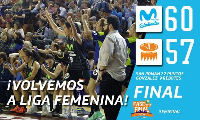 """¡¡Las """"Women In Black"""" lo vuelven a hacer!! ¡Movistar Estudiantes vuelve a lo grande a la Liga Femenina! (60-57)"""