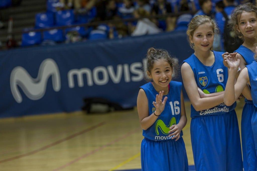 Escuela de Baloncesto Movistar Estudiantes 2017-18 en Magariños