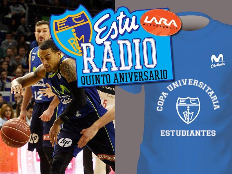 Especial EstuRadio fin de temporada: Tecnyconta Zaragoza -Movistar Estudiantes + finales de I Copa Universitaria Estudiantes