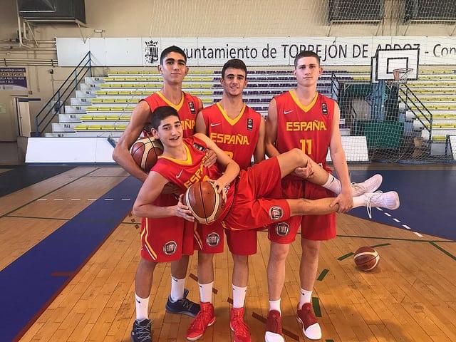 Héctor Alderete al Europeo U16M de Montenegro