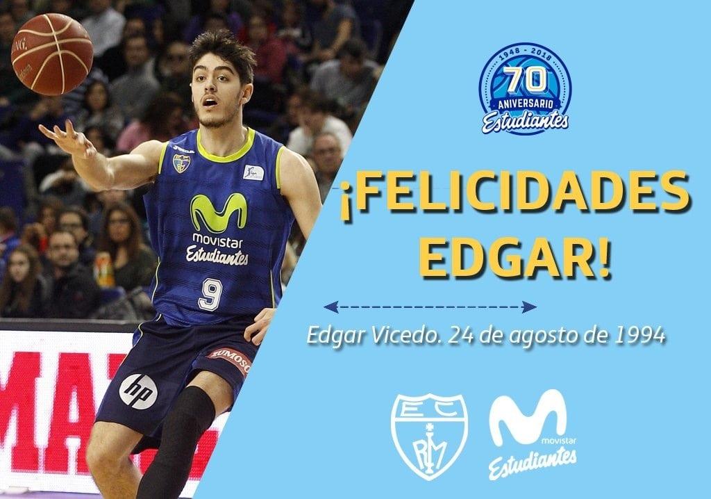 Hoy es el cumpleaños de Edgar Vicedo, 23 años