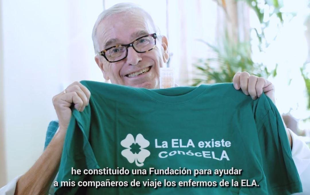 VÍDEO| Francisco Luzón explica por qué Fundación Estudiantes es embajadora contra la ELA