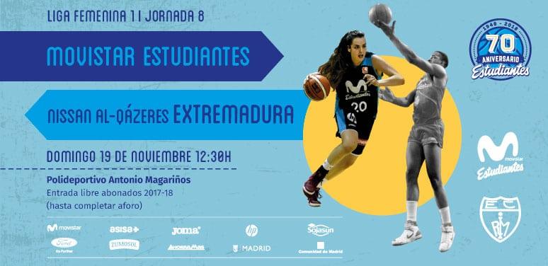 """Vuelven las """"Women in Black"""" al Magariños tras las ventanas FIBA: domingo 12:30h"""
