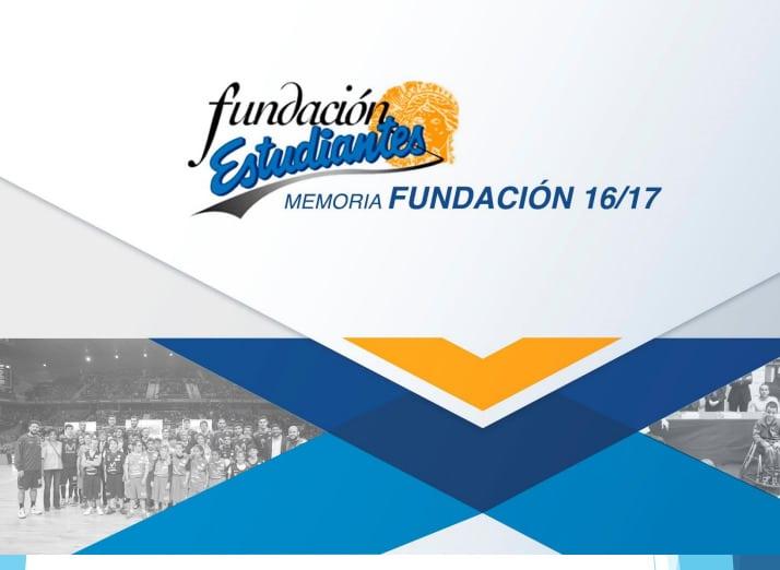 Fundación Estudiantes: Memoria 2016-17