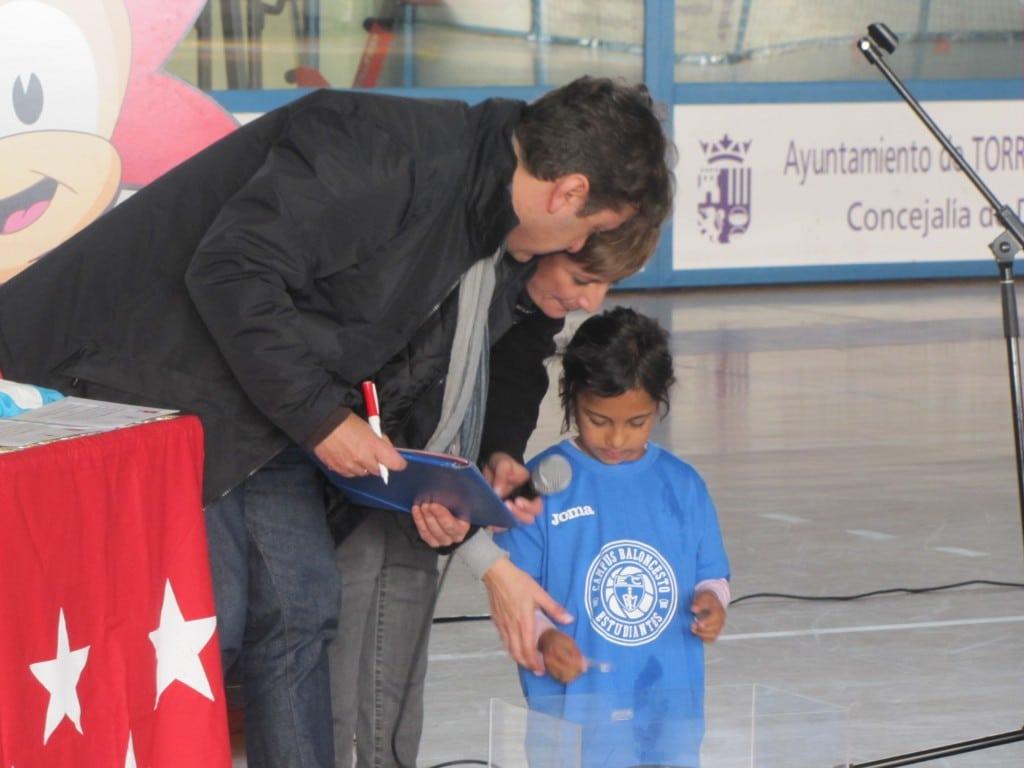 La Fundación Estudiantes, en Torrejón de Ardoz en apoyo de los niños en desventaja social