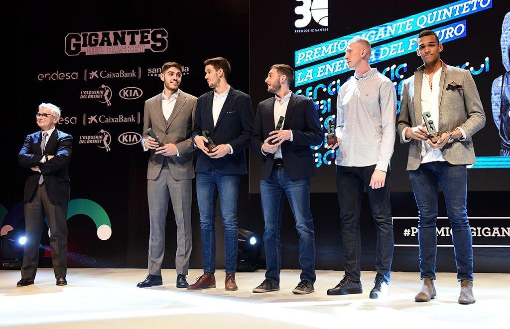 Edgar Vicedo galardonado en los XXX Premios Gigantes