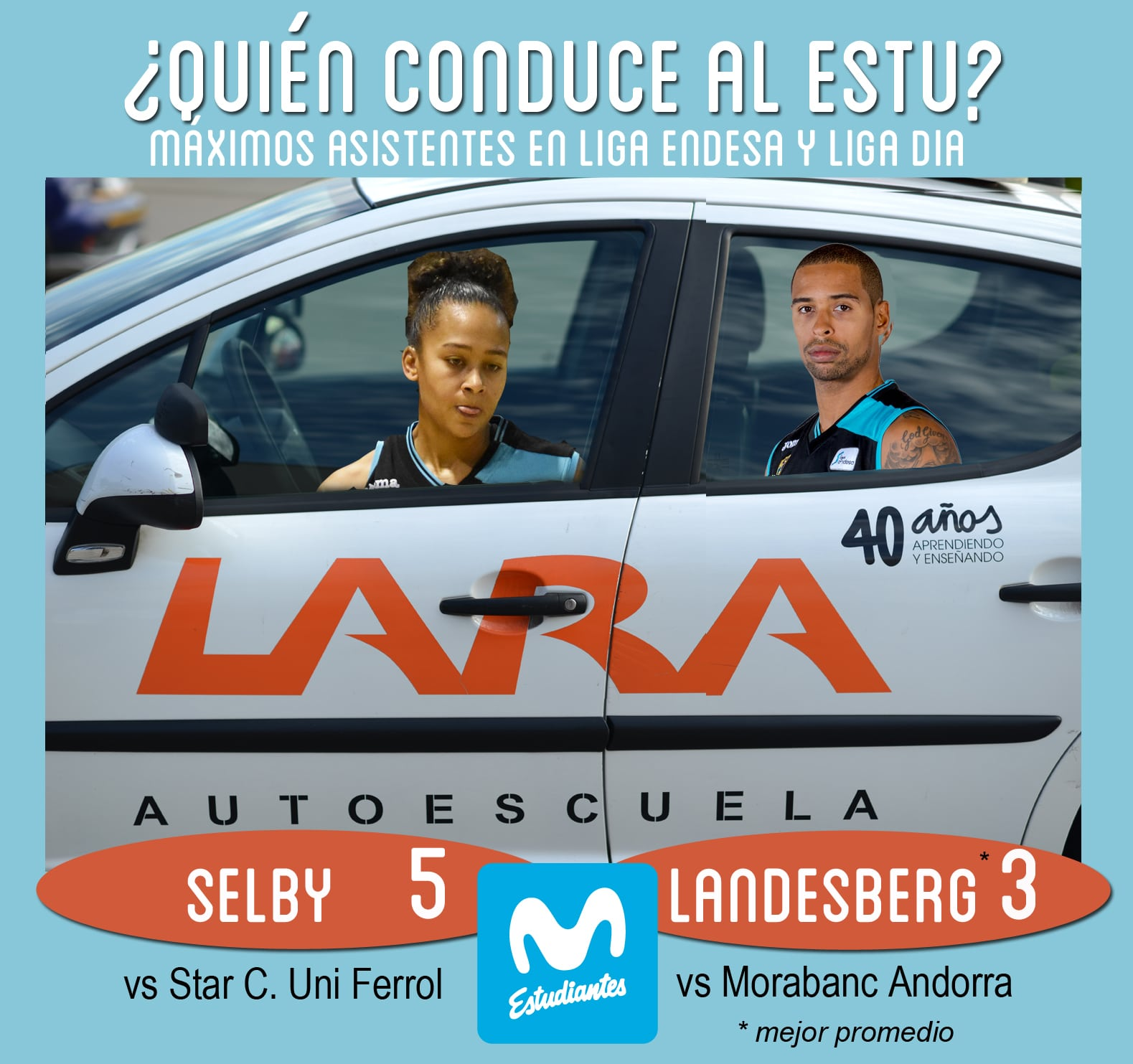 Conductores Autoescuela Lara: Selby y Landesberg