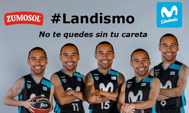 Llévate tu careta de Sylven Landesberg con Zumosol en el Movistar Estudiantes- Retabet Bilbao Basket