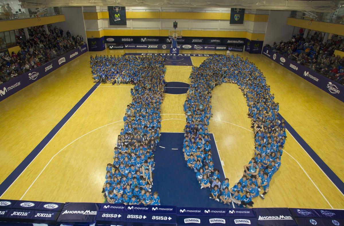 Bankia apoya al Movistar Estudiantes para fomentar la cantera a través de triples solidarios