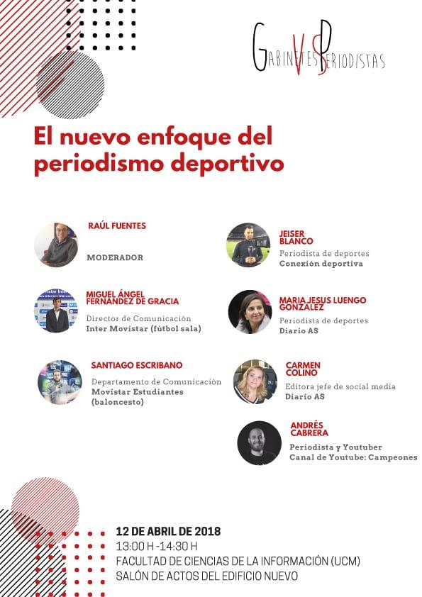 Movistar Estudiantes estará en el 9º Encuentro Gabinetes vs Periodistas de la Universidad Complutense de Madrid