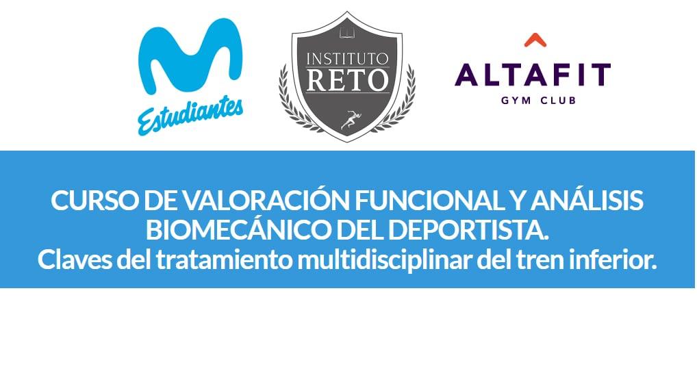 Curso de valoración funcional y análisis biomecánico del deportista en Altafit Estudiantes