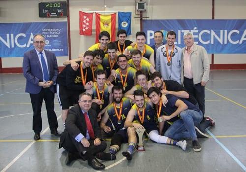 Campeonato de España Universitario: oro y bronce para la Politécnica en unas finales con sabor a Movistar Estudiantes
