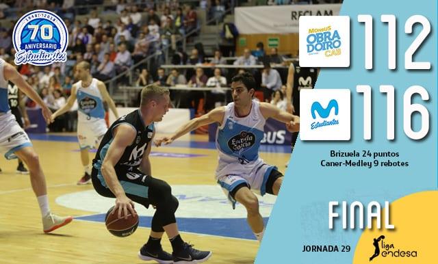 Récord de triples y victoria agónica para Movistar Estudiantes en Santiago (112-116)