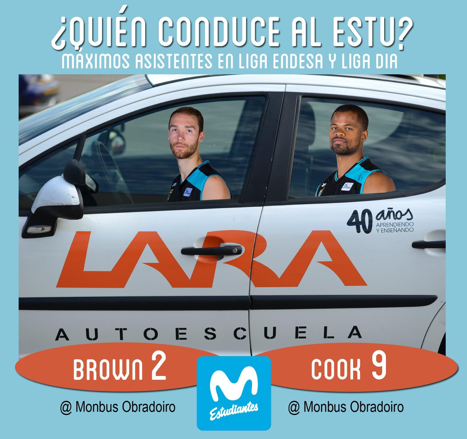 Conductores Autoescuela Lara: Omar Cook y Alec Brown