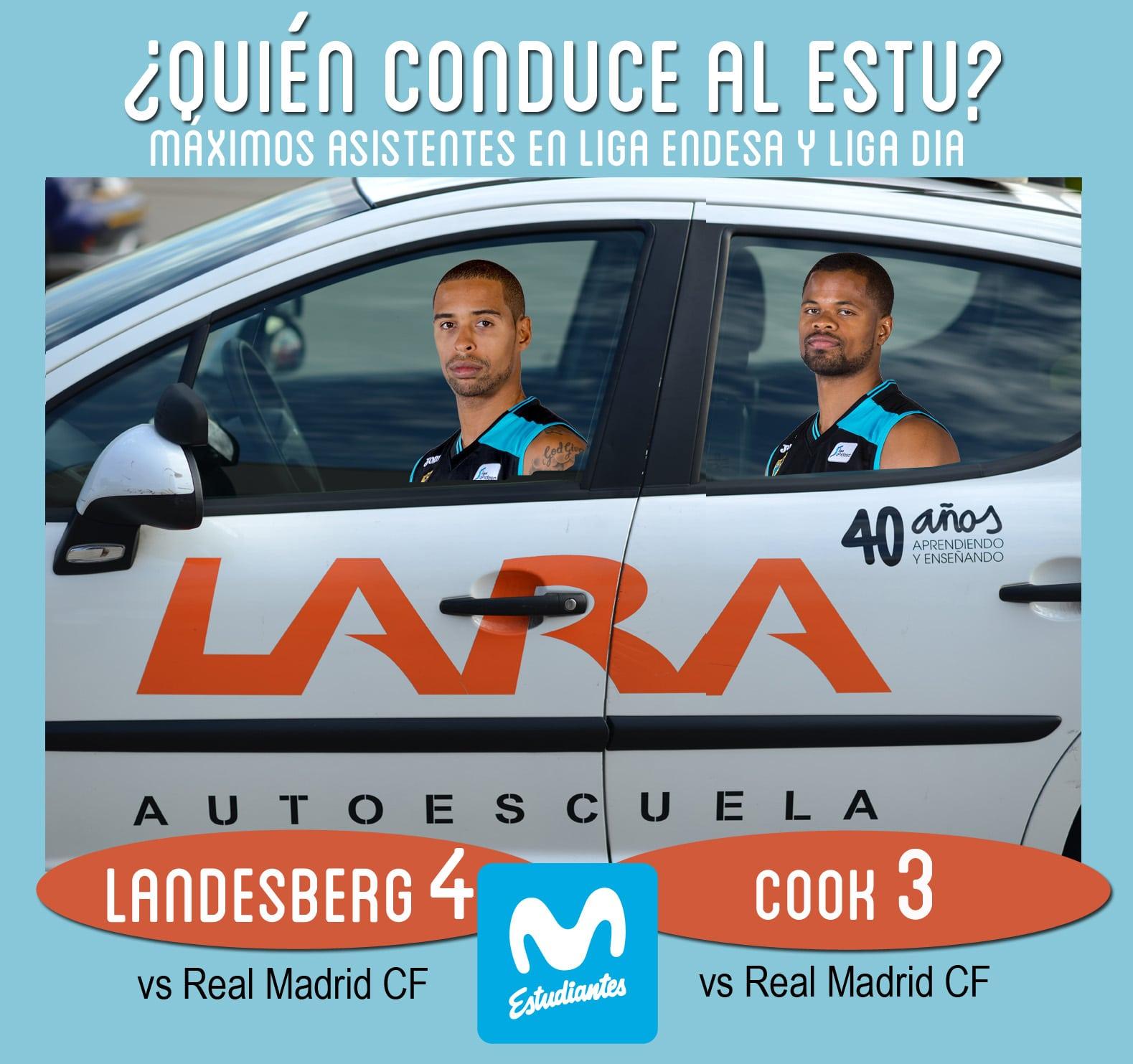 Conductores Autoescuela Lara: Sylven Landesberg y Omar Cook
