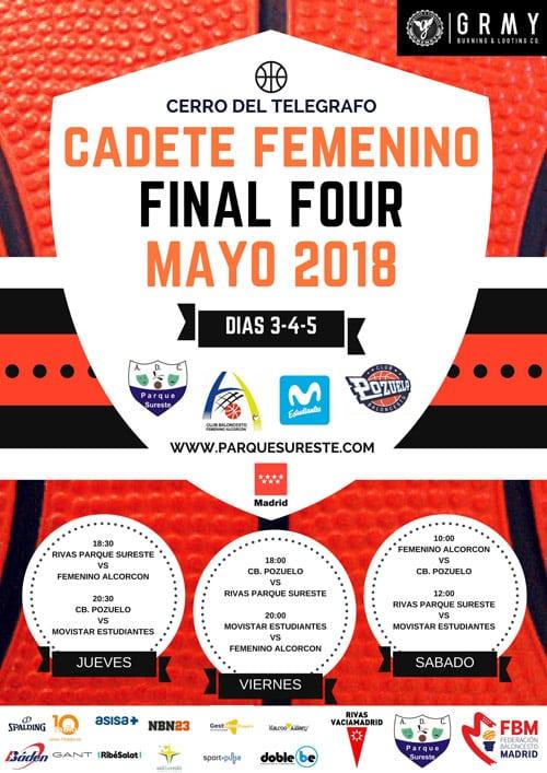 Fases Finales Cadetes de Madrid: Movistar Estudiantes, a por todas en categoría femenina y masculina