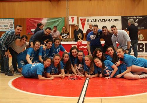 Fases Finales Cadetes de Madrid: ellas subcampeonas, ellos terceros. Ambos al campeonato de España