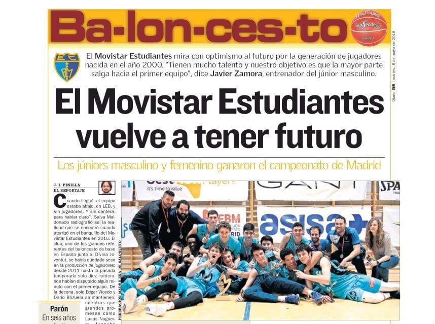 As: La cantera de Movistar Estudiantes tiene futuro