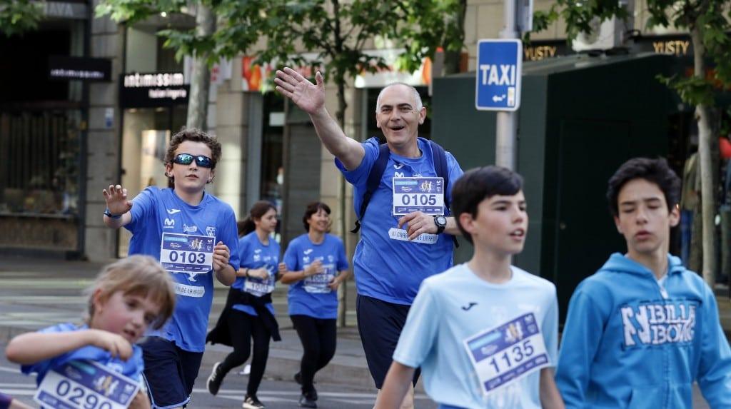 VÍDEO y FOTOS: ¡Teñimos de azul Madrid con la III Carrera de la Afición!