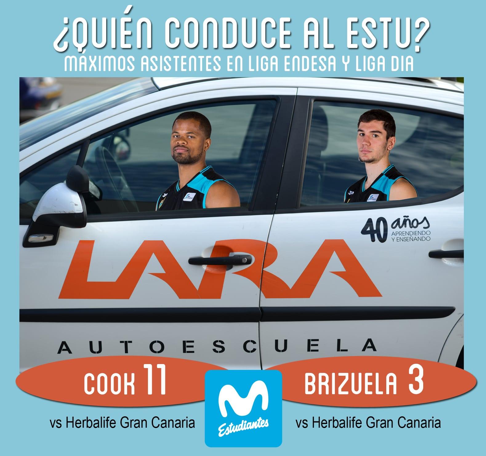 Conductores Autoescuela Lara: Cook y Brizuela