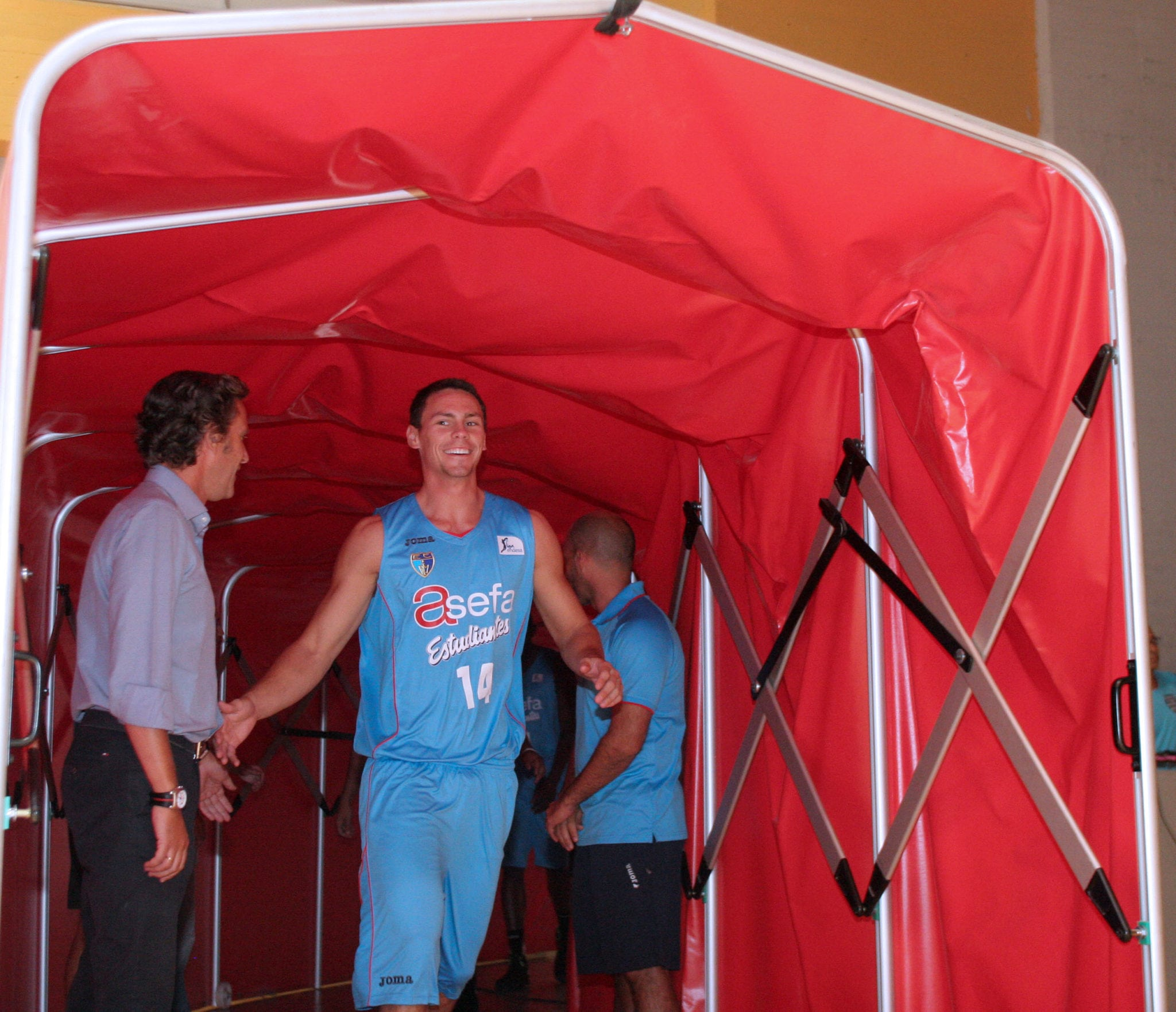 Fiesta azul en el Magariños (FOTOS)
