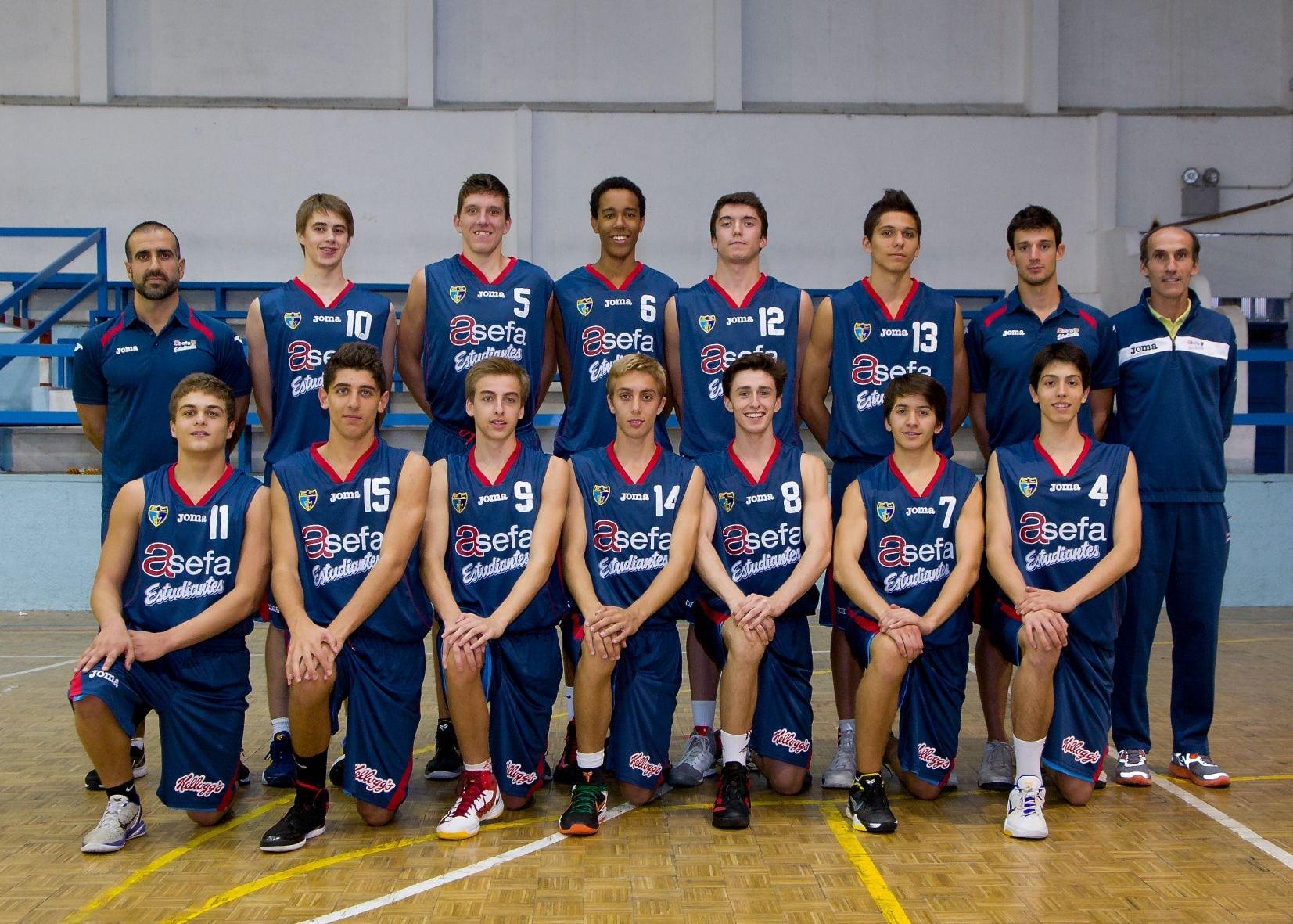 Cadete A Masculino 2012-13
