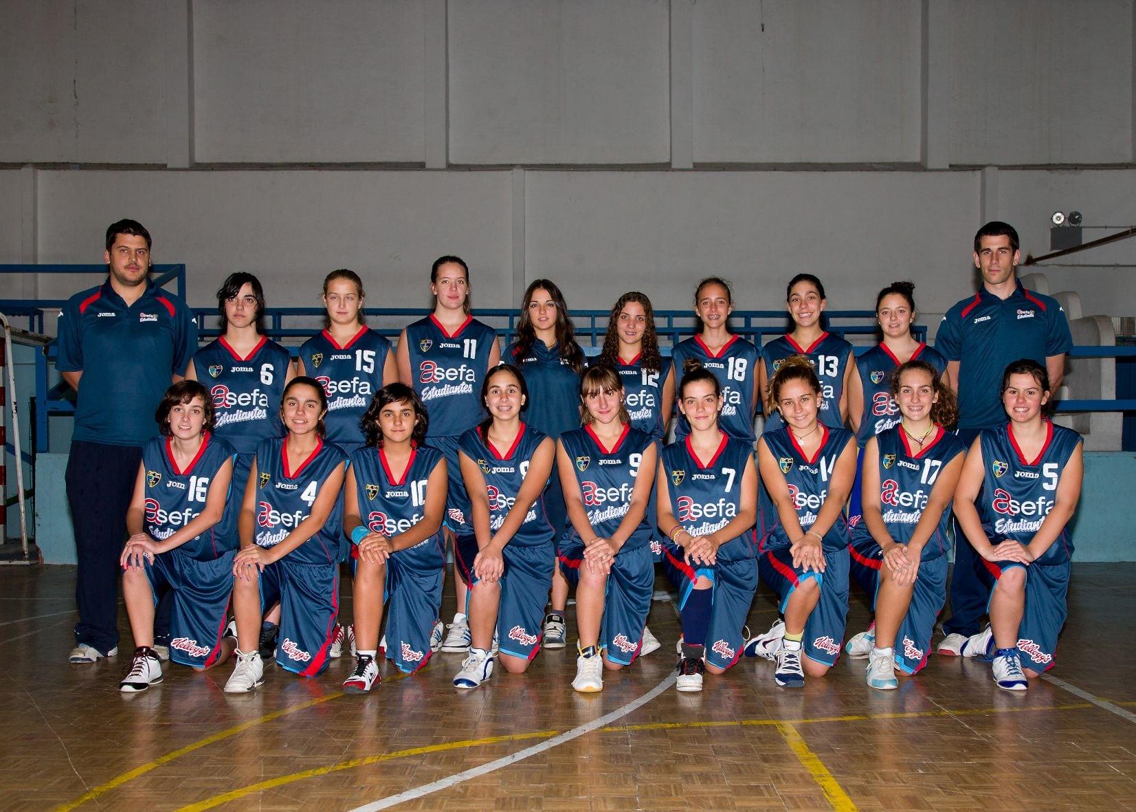 Cadete D Femenino 2012-13