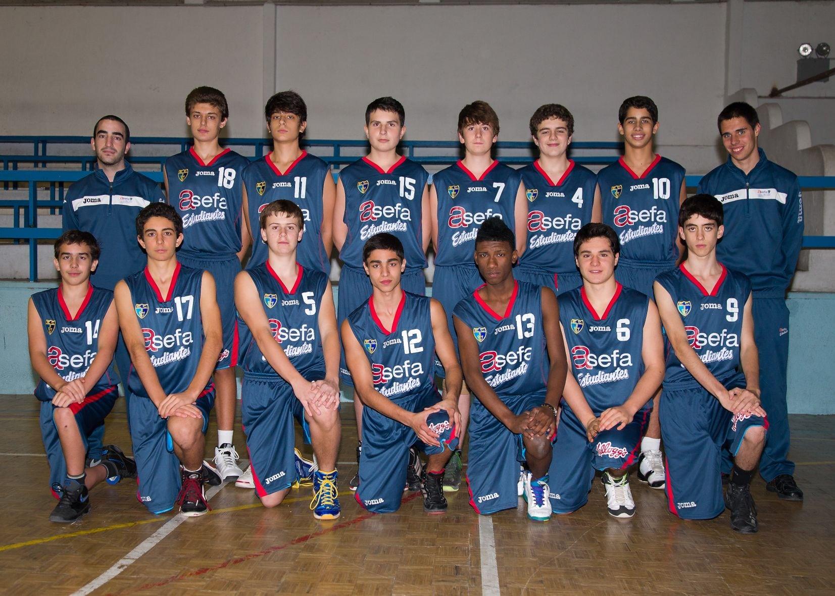 Cadete F Masculino 2012-13