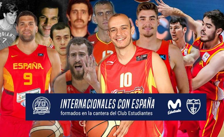 Histórico internacionales del Club Estudiantes