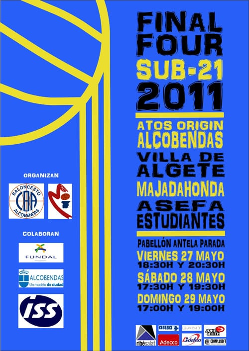 Sub-21: Fase Final de Madrid, de viernes a domingo