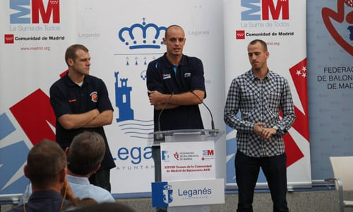 """""""Viva el ba-lon-ces-to"""" Presentado el XXVIII Torneo de la CAM en Leganés"""