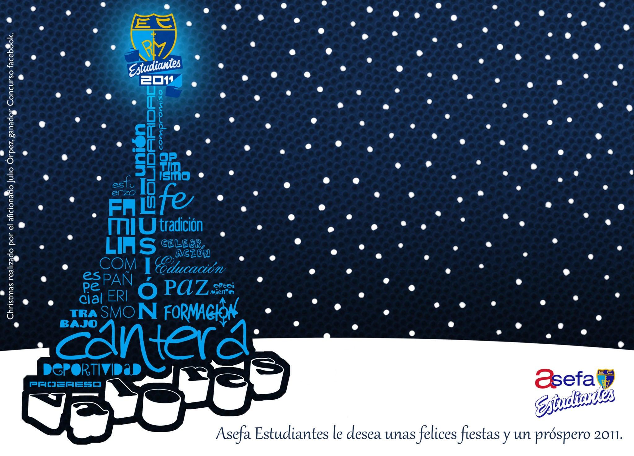 Diseña el christmas oficial de Asefa Estudiantes y llévate la camiseta