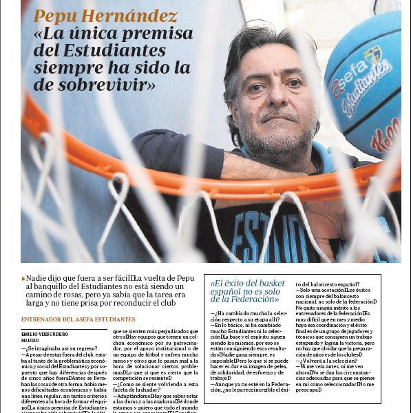 Revista Prensa 16 de Enero: Entrevista a Pepu en [ABC]