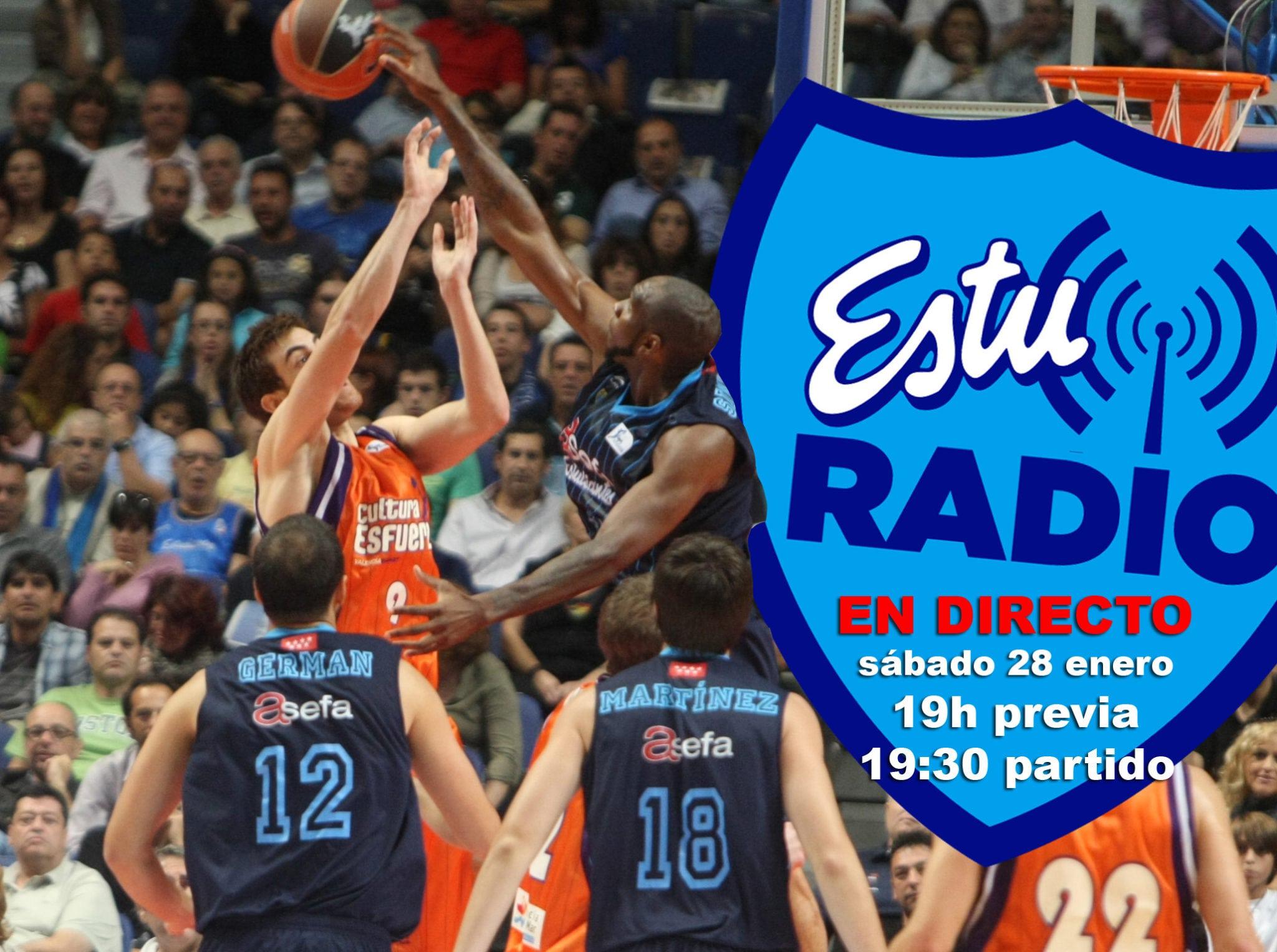 En EstuRadio, el partido de Valencia y la previa