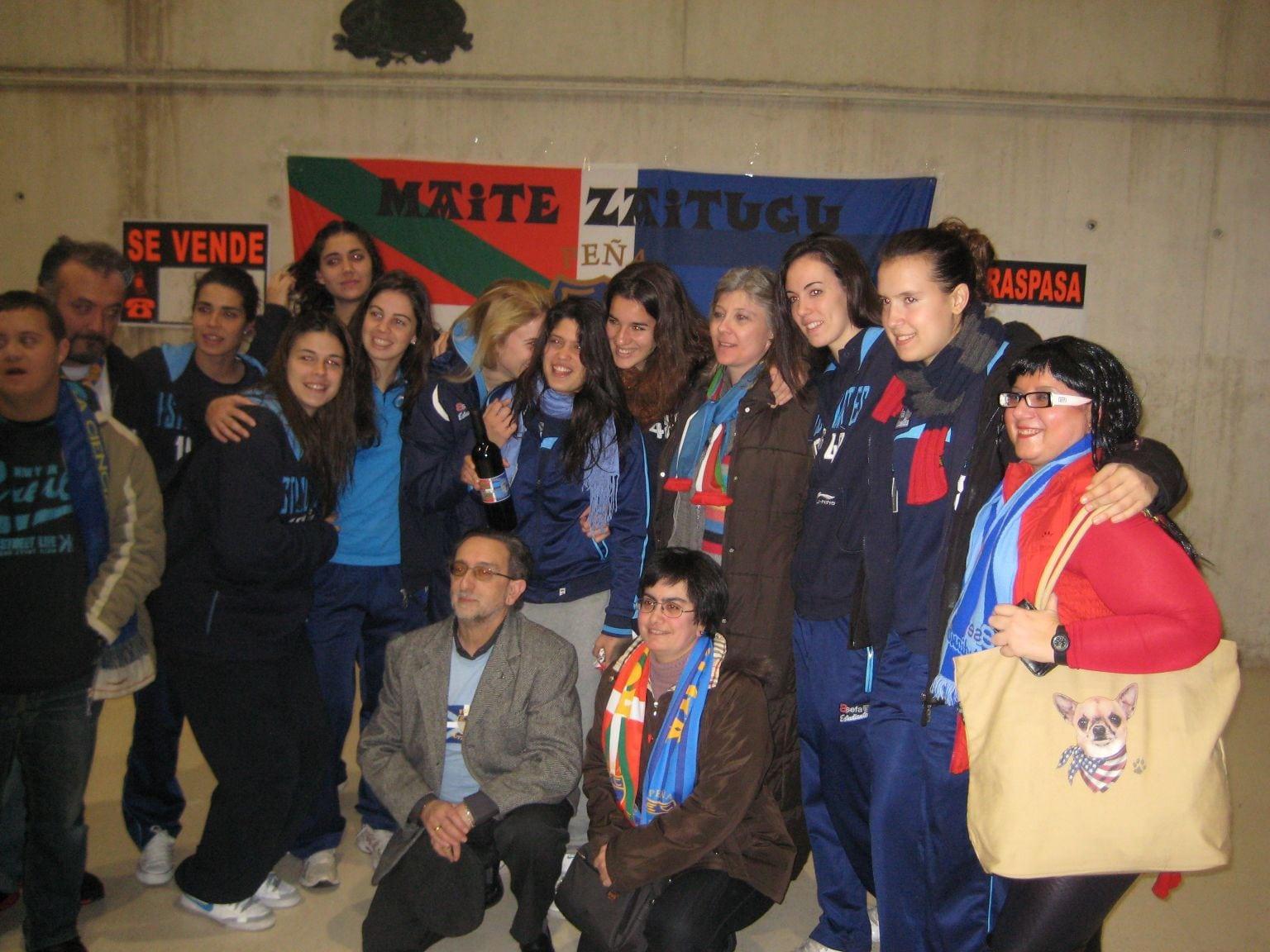 Fotos: En Euskadi, Asefa Estudiantes nunca caminará solo
