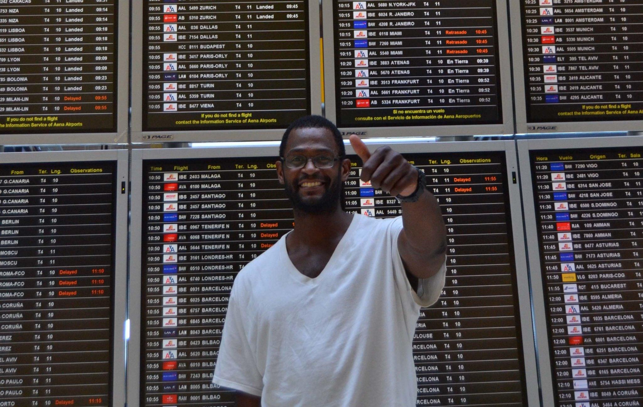 Lamont Barnes llega a Madrid ilusionado y con muchas ganas