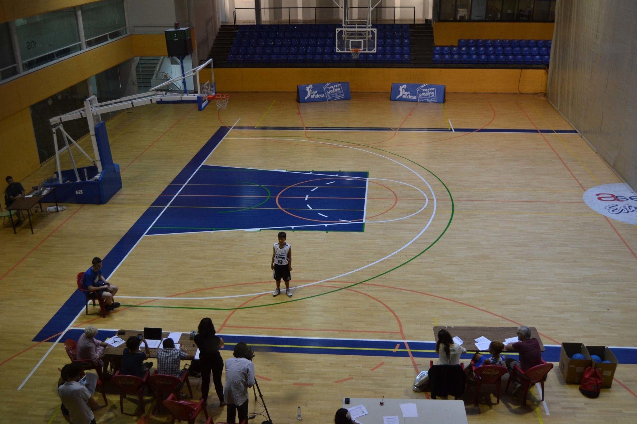 El Polideportivo Antonio Magariños, sede del Casting de la Liga Endesa