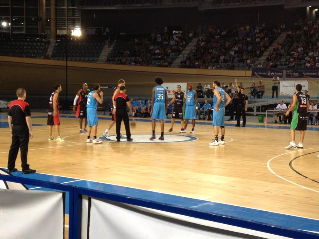 Se notó la diferencia de dos categorías en el Torneo Ciutat de Palma (59-91)